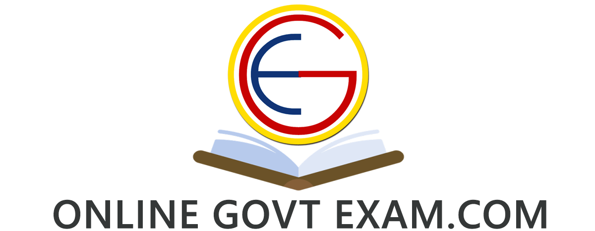 Online Govt Exam